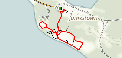 Jamestown Island Trail Map