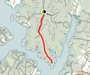 Lake Anna Jeep Trail Map