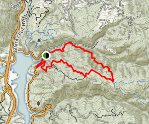 Lexington Reservoir Trail Map