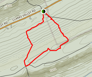 H. Knauber Trail Loop Map