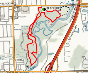 Hammel Woods Trail Map