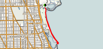 Montrose Harbor Trail Map