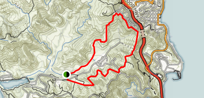 Rodeo Valley Loop Map
