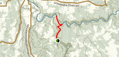 Waterfalls of Zoar Valley (12 falls) Trail Map