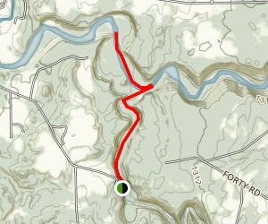 Waterfalls of Zoar Valley Trail Map