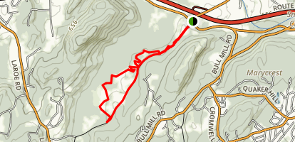 Goose Pond Mountain Trail Map