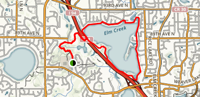 Rice Lake Loop Trail Map