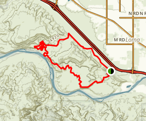 Mary's Loop Trail Map