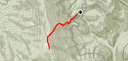Chilco Mountain Trail Map