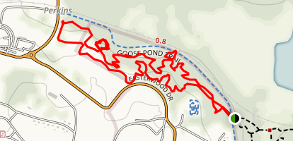 Magnolia MTB Trail Map
