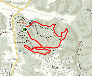 McDonough Trail Loop Map