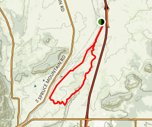 Greenland Trail Map