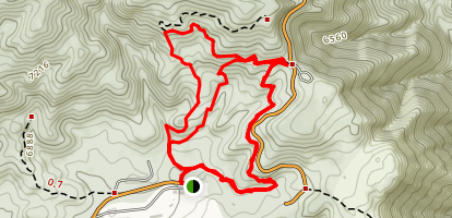 Rim Nordic MTB Park Trail Map