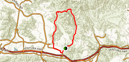 Ranch Center Connector Trail Map