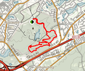 Sesqui Mountain Bike Trail Map