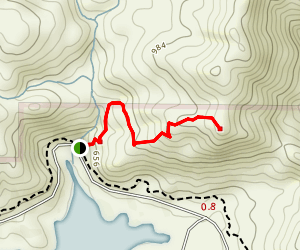 Buzzard's Roost Trail Map