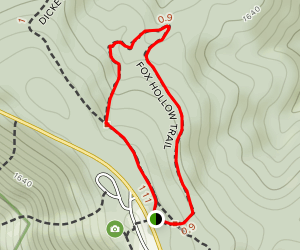 Fox Hollow Trail Map
