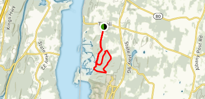 Tivoli Bays Trail Map