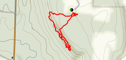 Whipp's Ledges Trail Map