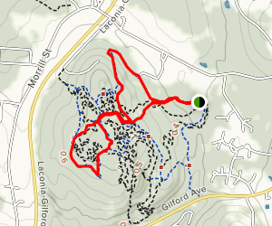 Ramblin' Vewe Farm Trail Map