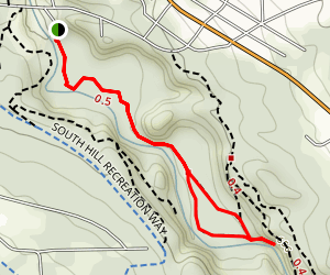 Six-Mile Creek Trail Map