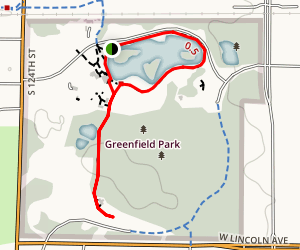 Greenfield Park Trail Map