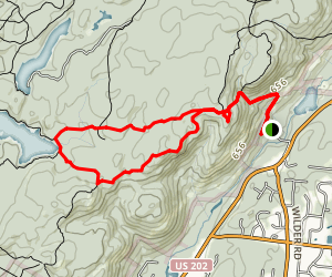 Pine Meadow Lake Loop Trail Map