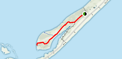 St. George Island Campground Trail Map