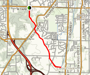 Clear Creek Rail-Trail Map