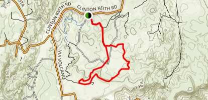 Lomas Trail Map