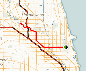 Wrigleyville  Exploration Trail Map