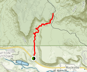 Huber Wash Trail Map