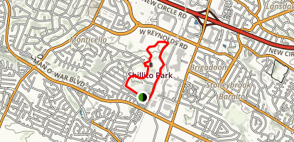 Shillito Park Trail Map
