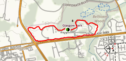 Glasgow Park Loop Trail Map