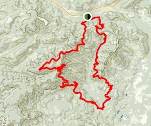 Rock Candy Mountain Trail Map
