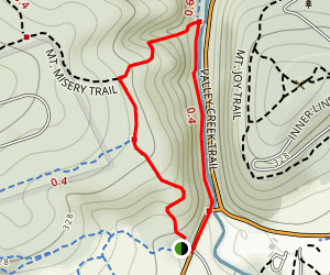 Valley Forge National Park Trail Map