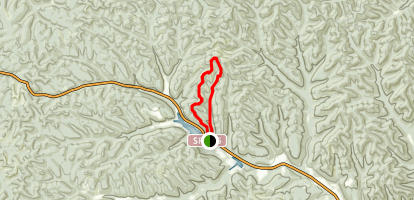 Day Hike Trail Map