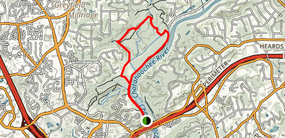 Powers Landing Trail  Map