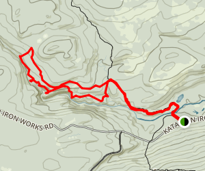 Gulf Hagas Trail Map