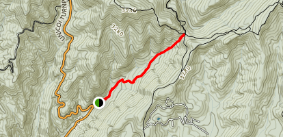 Andrews Cove Trail Map