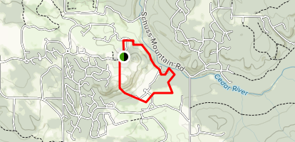 Shanty Creek Resort Trails Map