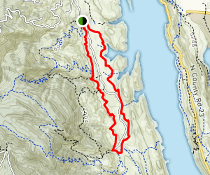 East & West Valley Trails Map