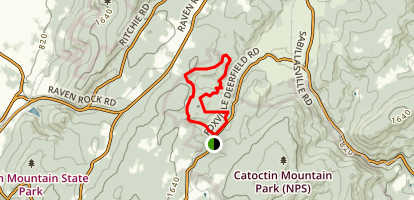 Owen's Creek Campground Loop Trail Map