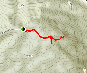 Chained Rock Trail Map