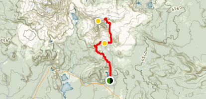 Broken Top Trail Map