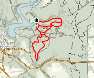 Versailles State Park Trail Map