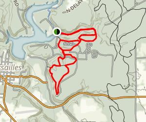 Versailles Trail 3, 2, 1 Loop Map