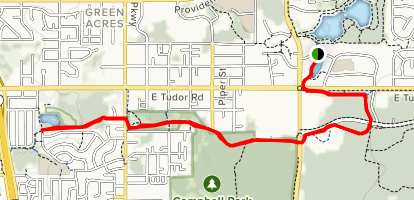 Campbell Creek Trail Map
