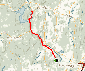 Farmington River Trail Map