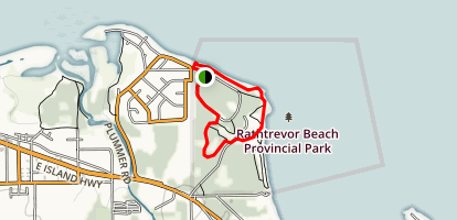 Rathtrevor Beach Provincial Park Loop Trail Map